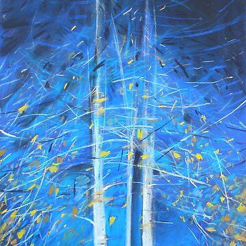 Birch trees -Vidoeiros by DiamondCrusade