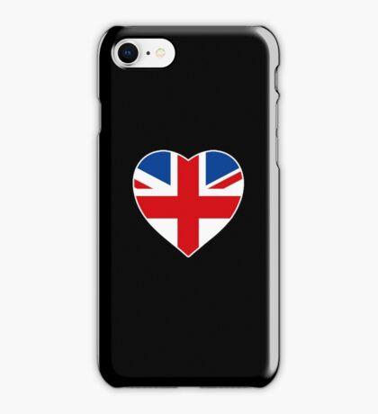Union Jack Heart iPhone Case/Skin