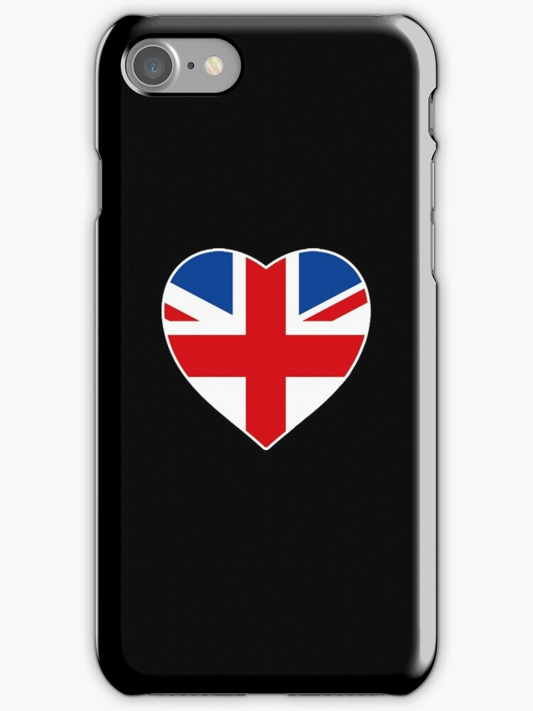 Union Jack Heart by saniday
