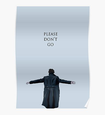 Please Don't Go Poster