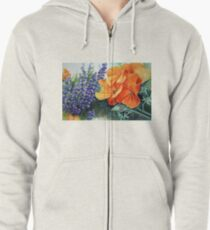 California Dreaming Zipped Hoodie