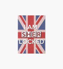 I Am Sherlocked Art Board