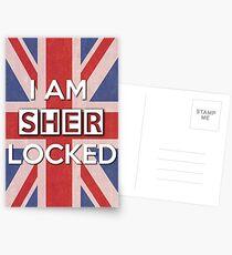 I Am Sherlocked Postcards