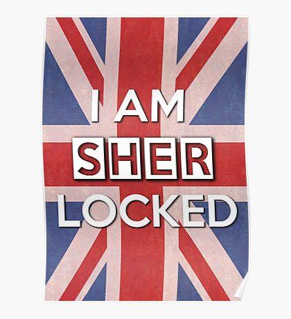 I Am Sherlocked Poster