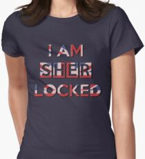 I Am Sherlocked Women's Fitted T-Shirt