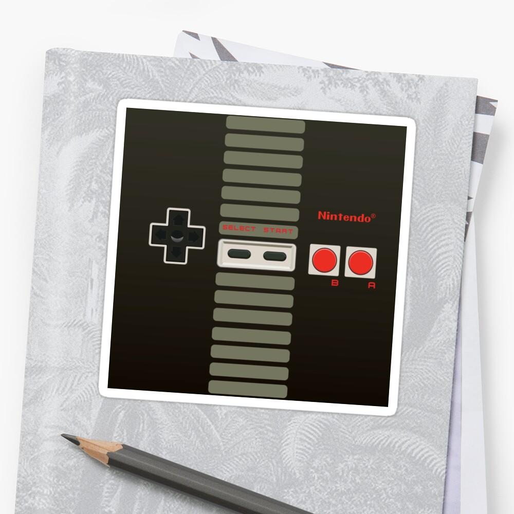 Controlador de Nintendo Pegatina