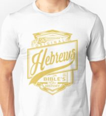 Die ursprünglichen Hebräer | Die Bibel ist unsere Geschichte Slim Fit T-Shirt