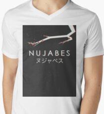 Nujabes 3D Blossom Men's V-Neck T-Shirt