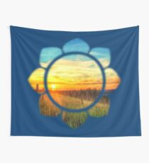 Paint Me A Sunset Wall Tapestry