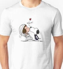 Snoopy Lucy Star Wars Unisex T-Shirt