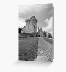 Ross Castle , Kerry , Ireland  Greeting Card
