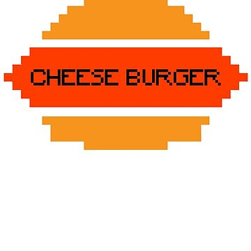 Cloudy with a chance of meatballs - CHEESE BURGER by BubblessandMia