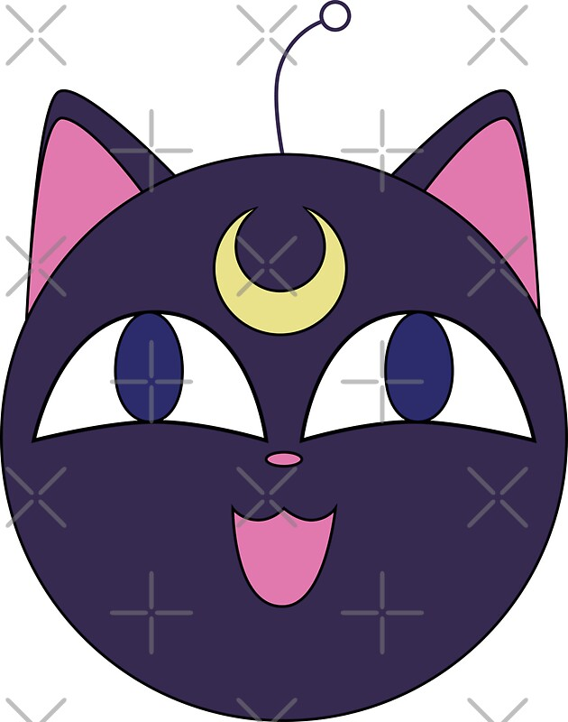 Quot Luna Ball Luna P From Sailor Moon Quot Stickers By