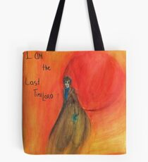 DW: I am the Last Timelord Tote Bag