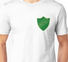 Harry Potter Slytherin Hogwarts House Prefect Badge Unisex T-Shirt