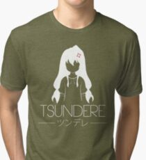 Tsundere Mode! Tri-blend T-Shirt