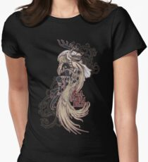 Vicar Amelia - Bloodborne (white dress version) Womens Fitted T-Shirt