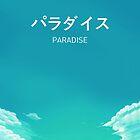 Paradise Japanese Aesthetic by akiramilk