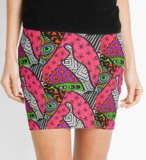 Abstract Fluoro 12  Mini Skirt