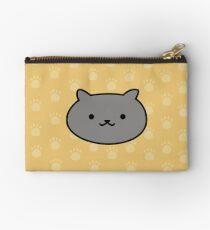 Niedlicher Kitty-Druck inspiriert von Neko Atsume Kitty Collector Täschchen