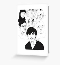 Filthy Frank Sketch Art Greeting Card