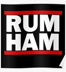 It's Always Sunny - Rum Ham Poster