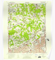 New York NY Hicksville 129917 1954 24000 Poster