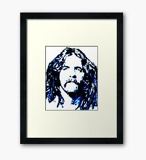 Glenn Frey Tribute Framed Print