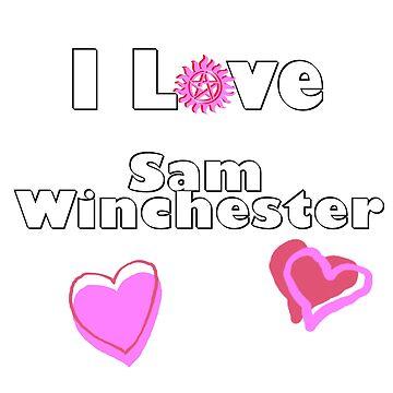 I Love Sam Winchester by PrincessSchez