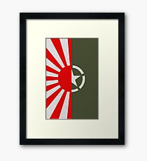 Rising Storm/Red Orchestra 2  U.S. Japanese Circle Framed Print