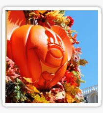 Mickey Pumpkin Sticker