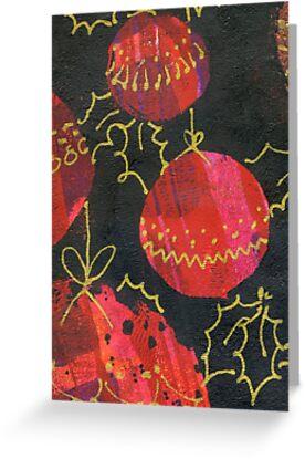 Xmas Card Design 9  by Heatherian