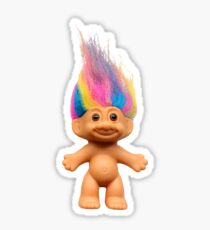 Troll Doll Sticker