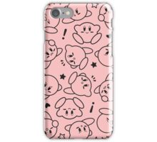 Kirby Mass Attack! iPhone Case/Skin