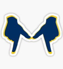 UMich Hand Sign Sticker