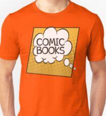 Comic Books Thought Bubble T Shirt T-Shirt