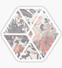 Exo Floral Sticker