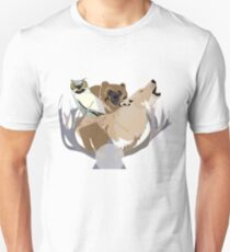 Forest Animals Unisex T-Shirt
