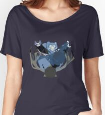 Inverted Forest Animals Women's Relaxed Fit T-Shirt