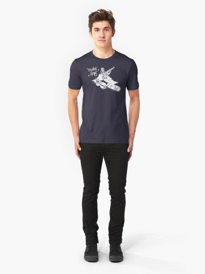Alternate view of Private Jane Slim Fit T-Shirt