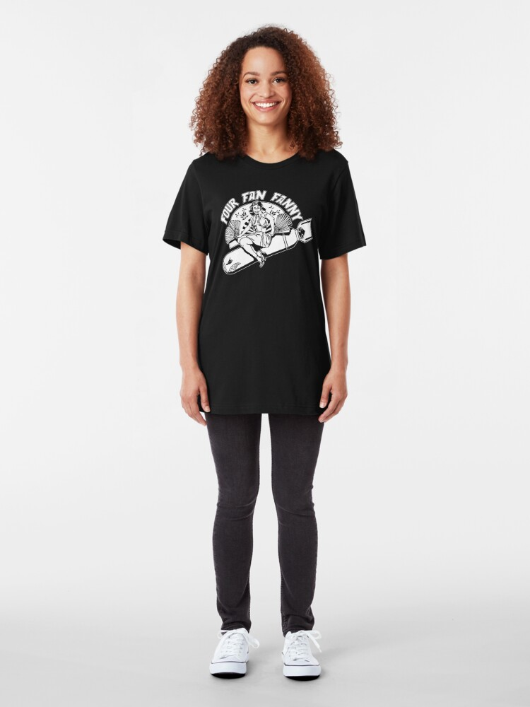 Alternate view of Four Fan Fanny Slim Fit T-Shirt