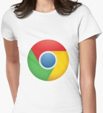 Google Chrome Women's Fitted T-Shirt