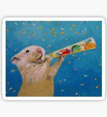Happy Hamster New Year Sticker
