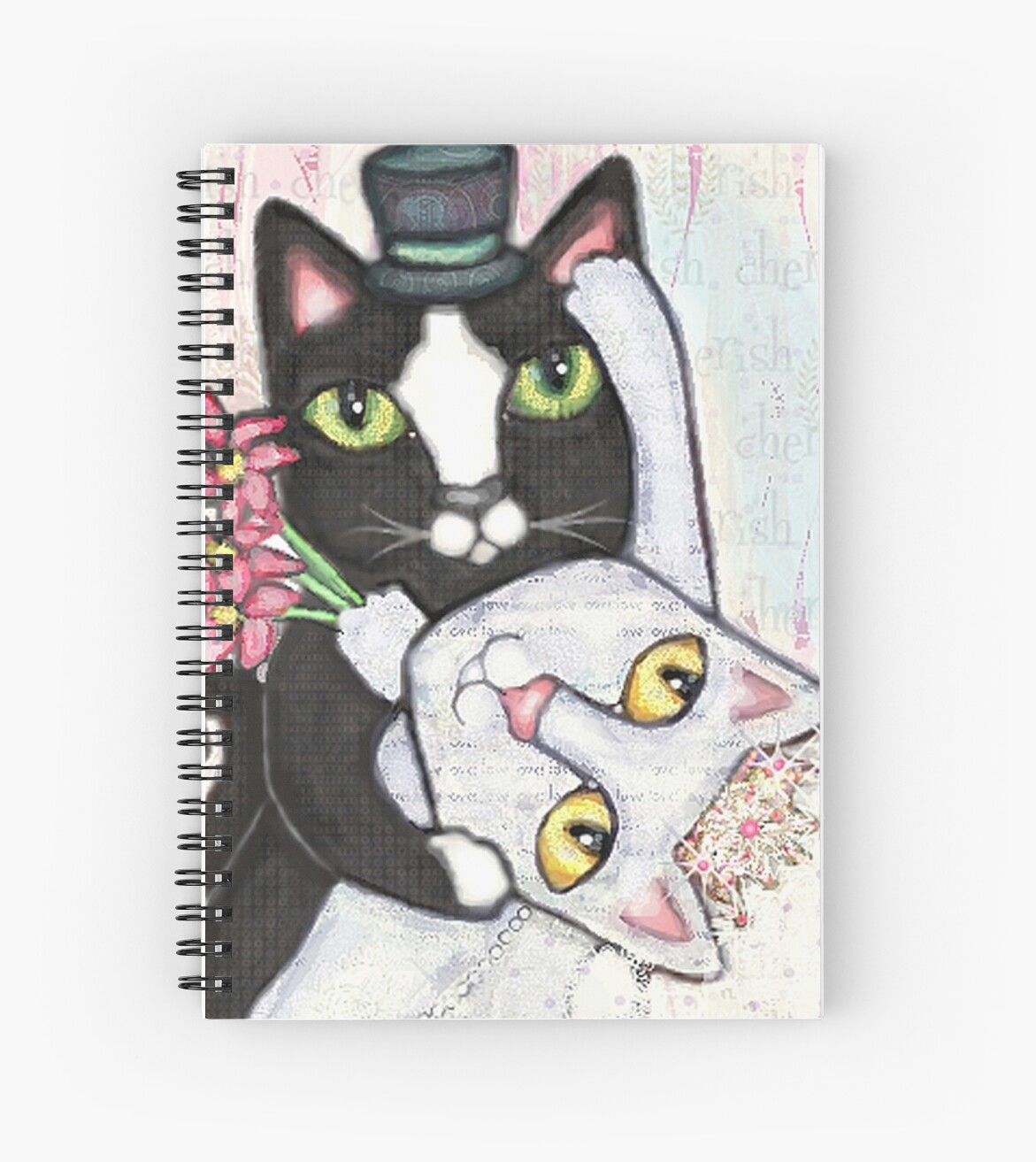 Wedding Dance Bridal Cat Couple Design by Jamie Wogan Edwards