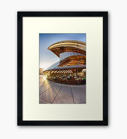 Bennelong Restaurant - Sydney Opera House - Australia Framed Print