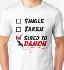 Damon Salvatore TVD Unisex T-Shirt