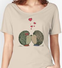Hedgehogs in love Women's Relaxed Fit T-Shirt