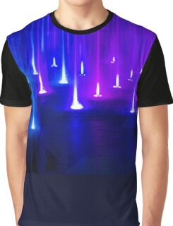 Multimedia Fountains in Plovdiv, BULGARIA Graphic T-Shirt