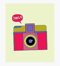 smile camera Photographic Print