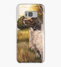 Springer in golden fields Samsung Galaxy Case/Skin